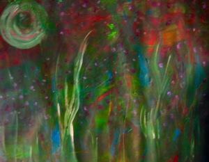 """'Jewel of Life'    Acrylic 18x17"""""""